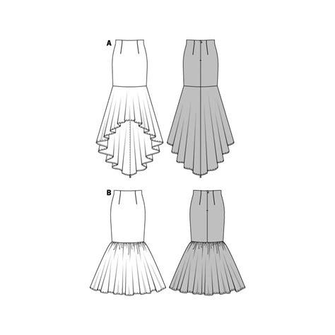 skirt pattern burda skirt sewing pattern burda n 176 7089 ma petite mercerie