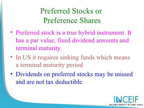 Sinking Fund Preferred Stock lecture 10