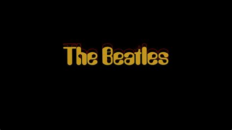 The Beatles Logo Wallpaper Hd