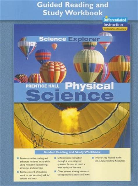 elements and the periodic table guided reading and study prentice science explorer physical science guided