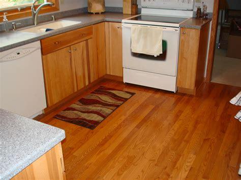 Wood Kitchen Floors Flooring Becker Home Improvement