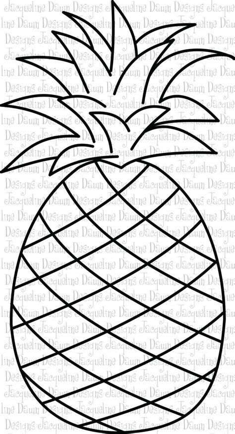 pineapple clipart black  white google search