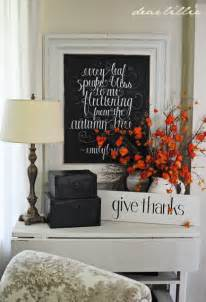 Decorating Ideas With Quotes Fall Chalkboards The Inspired Room