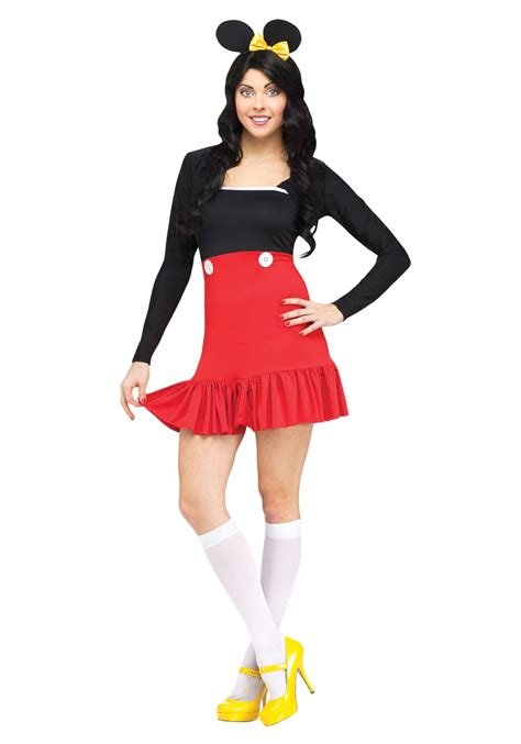 easy costumes for adults miss mikki costume