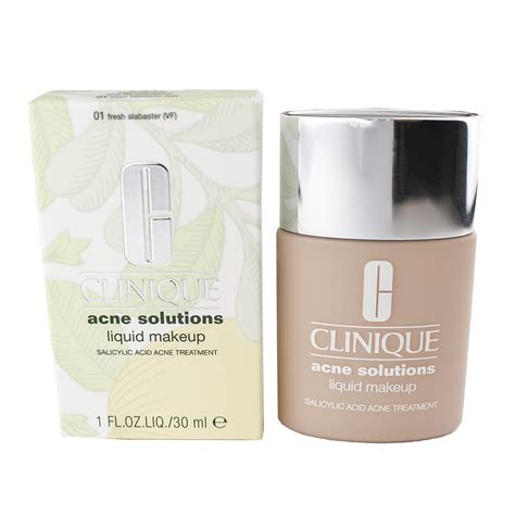 Clinique Acne Solutions Foundation clinique acne solutions free anti blemish liquid
