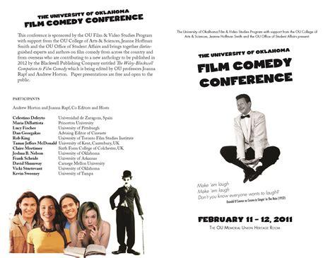 film comedy syllabus ou film comedy conference the ou fvs blog