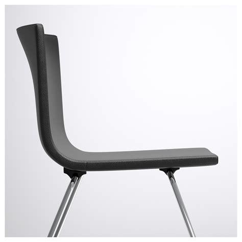Bernhard Chair by Bernhard Chair Chrome Plated Mjuk Brown