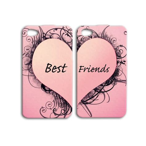 the best au pair pink adorable best friend pair iphone