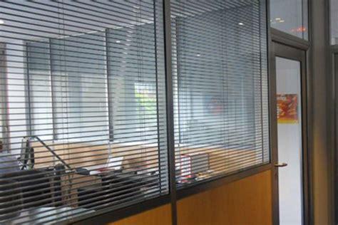 Les Cloisons Amovibles Avec Store Int 233 Gr 233 Espace Store Bureau