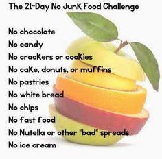 no bread challenge junk food challenge on no junk food