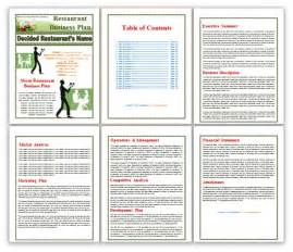 business plan template for restaurant restaurant business plan template templates platform