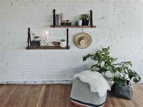 Farmhouse Design Plans by Make A Floating Bookshelf Using Old Belts Danmade Watch