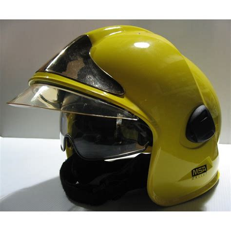 Msa Feuerwehrhelm by Msa Gallet F1e Firefighter Helmet Yellow Demonstration Unit