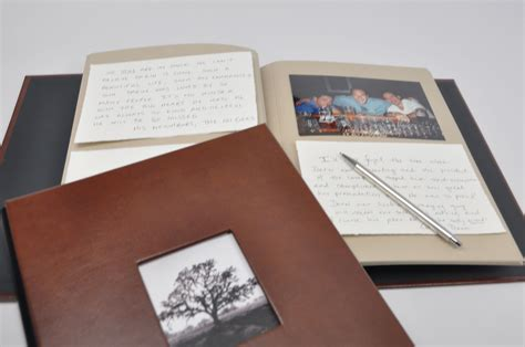 memorial picture book memorial message guest book by blue sky papers