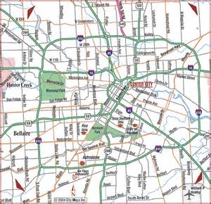 maps of houston map of houston