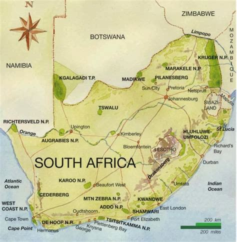 south africa map geography map of south africa pictures map of south