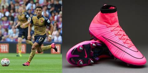 alexis sanchez debuts correct nike mercurial superfly top 10 boots worn by footballers 2015 16 slide 8 of 10