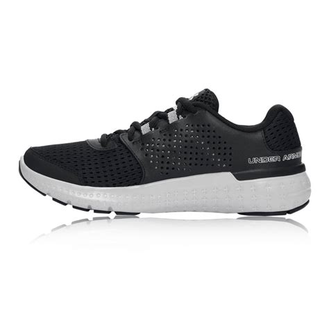 armour black sneakers armour micro g fuel rn womens black sneakers sports