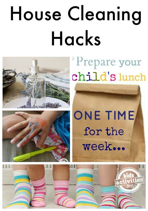 cleaning house hacks decluttering the house with kids kids activities blog