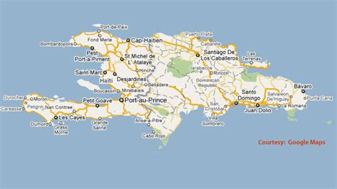 haiti on world map haiti earthquake world map
