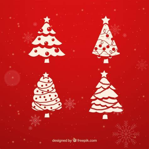 vector arbol navidad 225 rbol de navidad conjunto descargar vectores gratis