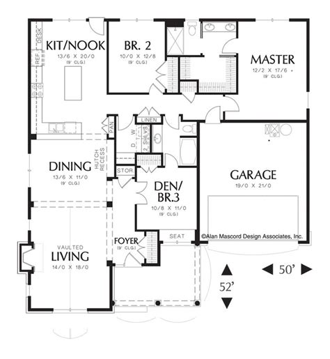 mascord house plan 1153 traditional cars and home