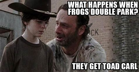Walking Dead Carl Meme - the walking dead 23 of the funniest rick carl dad