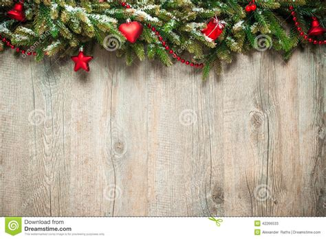 christmas decoration  wooden background stock image