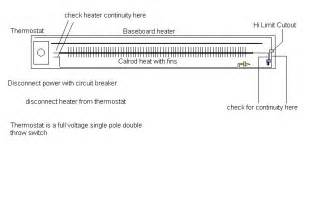 electric baseboard heater schematic get free image about wiring diagram