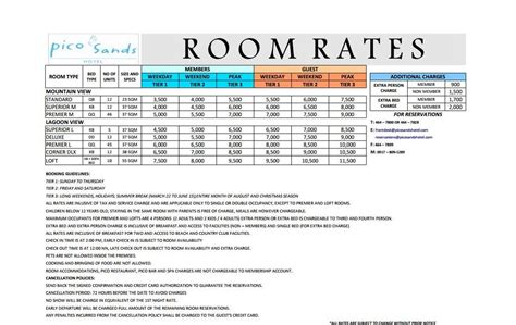 Resort Room Rates by Book Lang Ng Book Pico De Loro Hamilo Coast Awesome