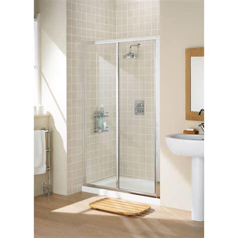 1000 Sliding Shower Door Silver Framed Sliding Shower Door 1000 Enclosure Buy At Bathroom City