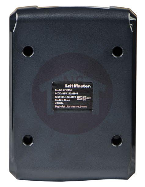 Liftmaster Garage Door Opener Keypad Liftmaster Kpw5 Garage Door Opener Gate Wireless Keypad