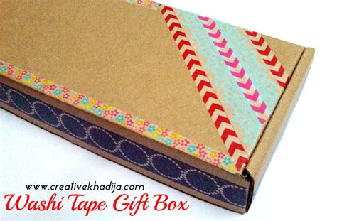 washi tape designs gift packing idea with washi tape