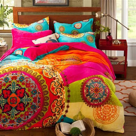 bohemian comforter 17 parasta ideaa bohemian bedding sets pinterestiss 228