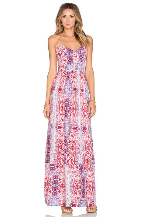 Verona Maxy by Verona Maxi Dress In Pink Lyst
