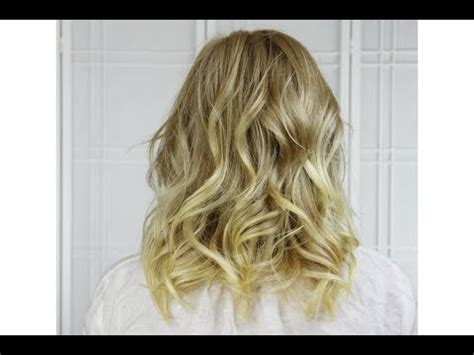curly hairstyles using straightener curl short to medium length hair with flat iron youtube