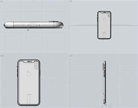 iphone x 3d model to on behance