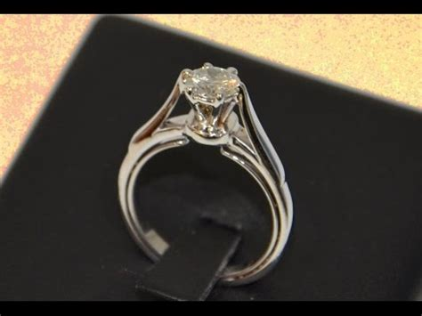 Handmade Gold Engagement Rings - handmade gold solitaire engagement ring six prong