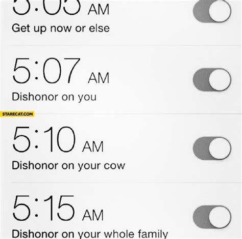 Iphone Alarm Meme - family starecat com