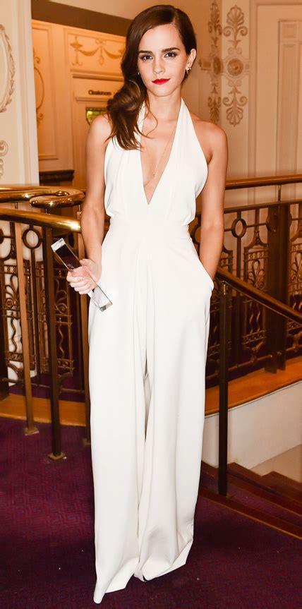 emma watson jumpsuit 2014 british fashion awards the democracy diva