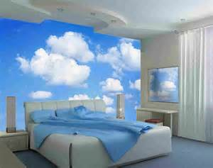large wall mural clouds kidskid in the mural