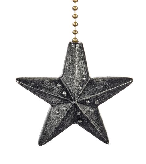 decorative ceiling fan pulls black barn star decorative ceiling fan light dimensional
