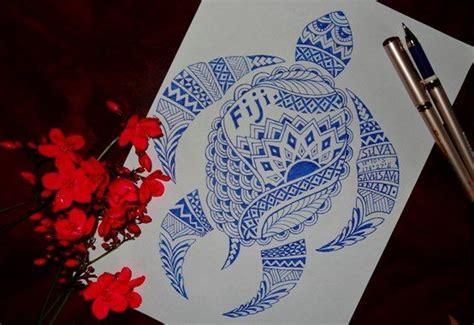 south seas tattoo tribal turtle from fiji south seas south seas tribal t