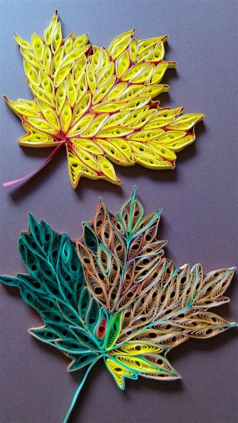leaf pattern quilling 90 best images about quilling leaves on pinterest