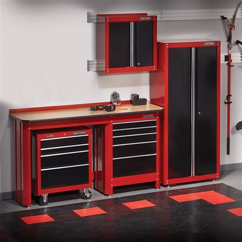crasftman work bench new craftsman garage storage