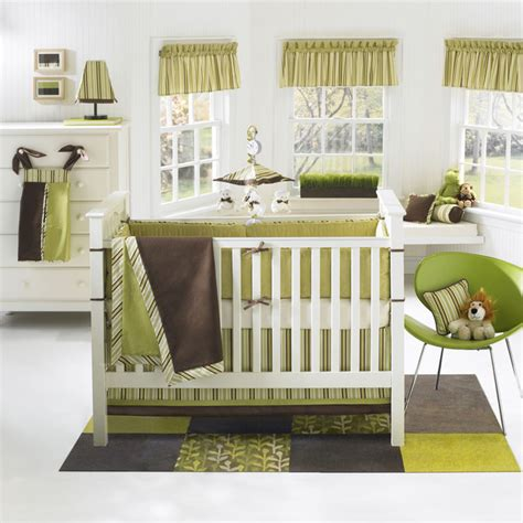 Modern Baby Crib Bedding by Modern Nursery Themes Home Garden Design