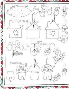 149 Best Templates For Felt Images On Pinterest Christmas Crafts Christmas Deco And Christmas Free Templates For Felt Decorations
