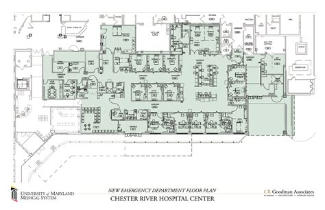emergency department floor plan new emergency department in chestertown readies for grand opening week shore regional health