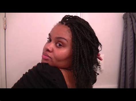 crochet braids  kinky twists with afro twist hair  janet