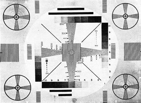 test pattern radio the television test pattern january 1949 radio